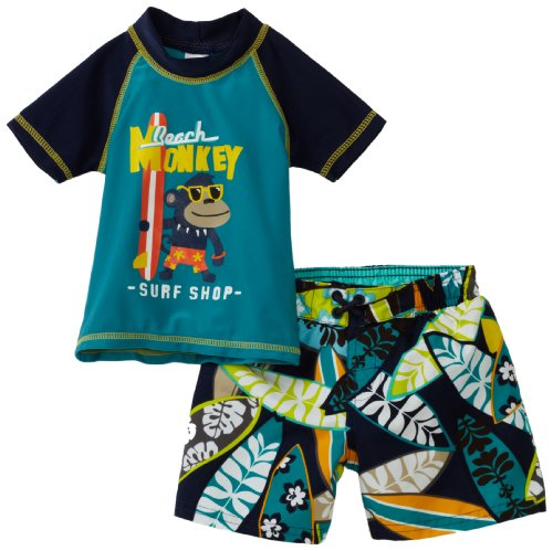 Carter's Baby Boys' Monkey Rash Guard