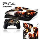 Ci-Yu-Online VINYL SKIN [PS4] Street Fighter V #5 Ryu Whole Body VINYL SKIN STICKER DECAL COVER for PS4 Playstation 4 System Console and Controllers