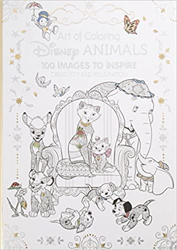Amazon.com: Art of Coloring: Disney Animals: 100 Images to Inspire ...