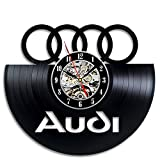 Audi Gift Art Decor Wall Clock Home Record Vintage Decoration Review