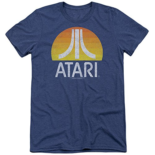 Atari Sunrise Eroded Mens Tri-Blend