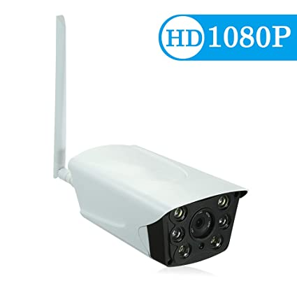 "OWSOO IP Cámara HD 1080P IP Camera 6mm 1/2.8"" CMOS P2P Onvif 2PCS"
