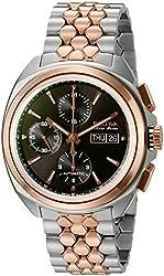 Bulova Accu Swiss Men's 65B168 Mechanical Hand Wind Two Tone Watch