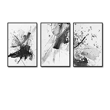 Unbekannt Global  3 Multi Wandbild Set Massivholz Abstrakte Kunst  Triptychon Wohnzimmer Wandbild Für Wohnzimmer/
