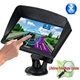 Best Trucking Gps - Xgody Portable Truckers GPS with Sun Shade Capacitive Review