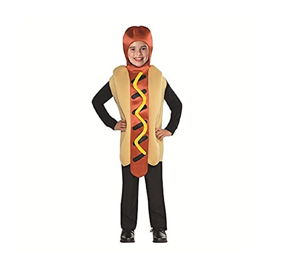 Hot Dog Costume for Kids Standard Size