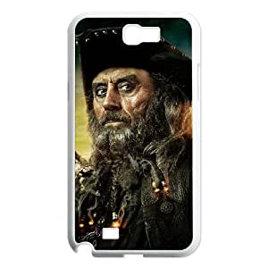 Pirates of the Caribbean Samsung Galaxy N2 7100 Cell Phone Case White