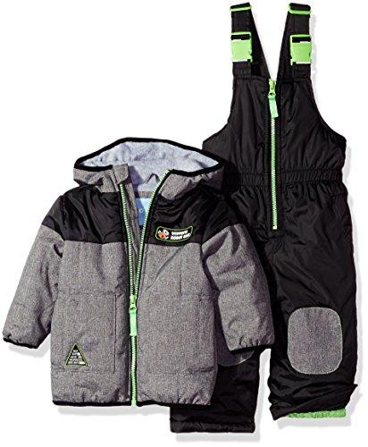Wippette Boys' Baby Yd Cire Snowsuit, Black, 24 Months