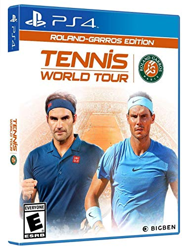 Tennis World Tour Roland-Garros Edition (PS4) - PlayStation 4