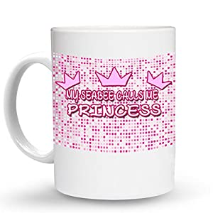 MY SEABEE CALLS ME PRINCESS Princess Mug - 11 Oz. Unique Coffee Mug, Coffee Cup by Hot Designs