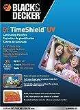 BLACK + DECKER TimeShield  UV Thermal Laminating Pouches, 4 x 6 Photo, 5 mil - 25 Pack (LAM4X6-25)
