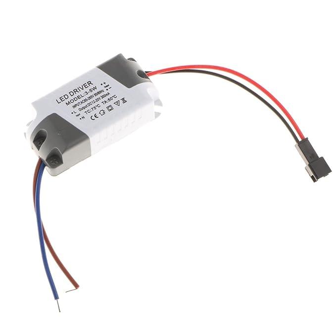 3-5W Homyl Fuente Alimentaci/ón de Transformador Conductor de Luz Panel de Techo LED No Regulable