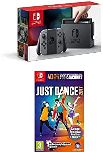 Nintendo Switch - Consola Color Gris + Just Dance 2017: Amazon.es ...