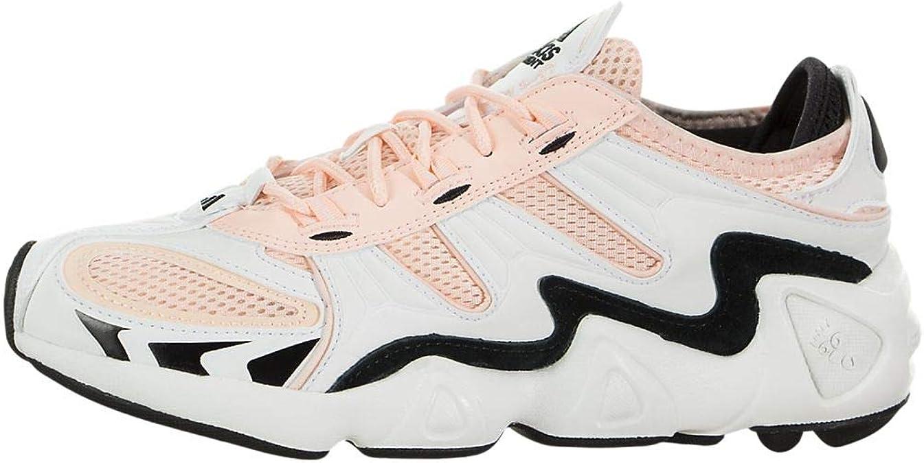 adidas FYW S-97 - Zapatillas deportivas para mujer, Rosa (Blanco cristal/núcleo negro/naranja transparente.), 38 EU: Amazon.es: Zapatos y complementos