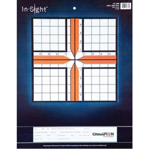Insight Targets (Champion 25-yard Pistol Slow Fire In-Sight Target (Pack of 12))