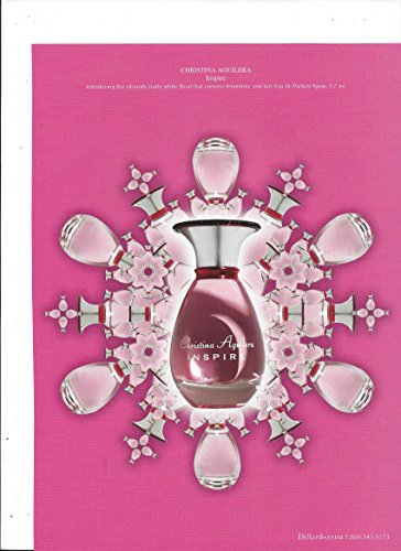 magazine-advertisement-for-christina-aguilera-inspire-for-dillards