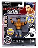 WWE Wrestling Build N 'Brawl Series 4 Mini 4 Inch Action Figure The Miz by Jakks Pacific [parallel import goods]