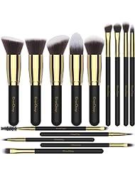 EmaxDesign Makeup Brushes 14 Pieces Professional Makeup...