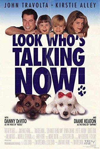 Look Who's Talking Now Poster Movie 11x17 John Travolta Kirstie Alley Olympia Dukakis George Segal