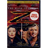 Le Masque de Zorro - The Mask of Zorro (English/French) 1998 (Widescreen) Doublé au Québec (Cover Bilingue) Deluxe Edition