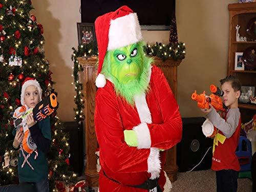 Save Christmas Nerf Style