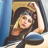 FAYBOX 6pcs Magic Wide Wicking Headbands Outdoor