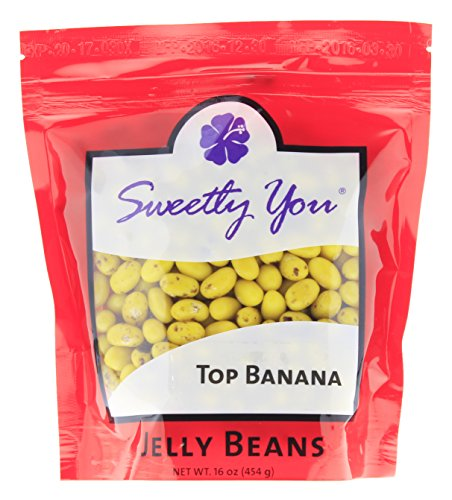 Jelly Belly 16 OZ Top Banana Flavored Beans.  bulk jelly bea