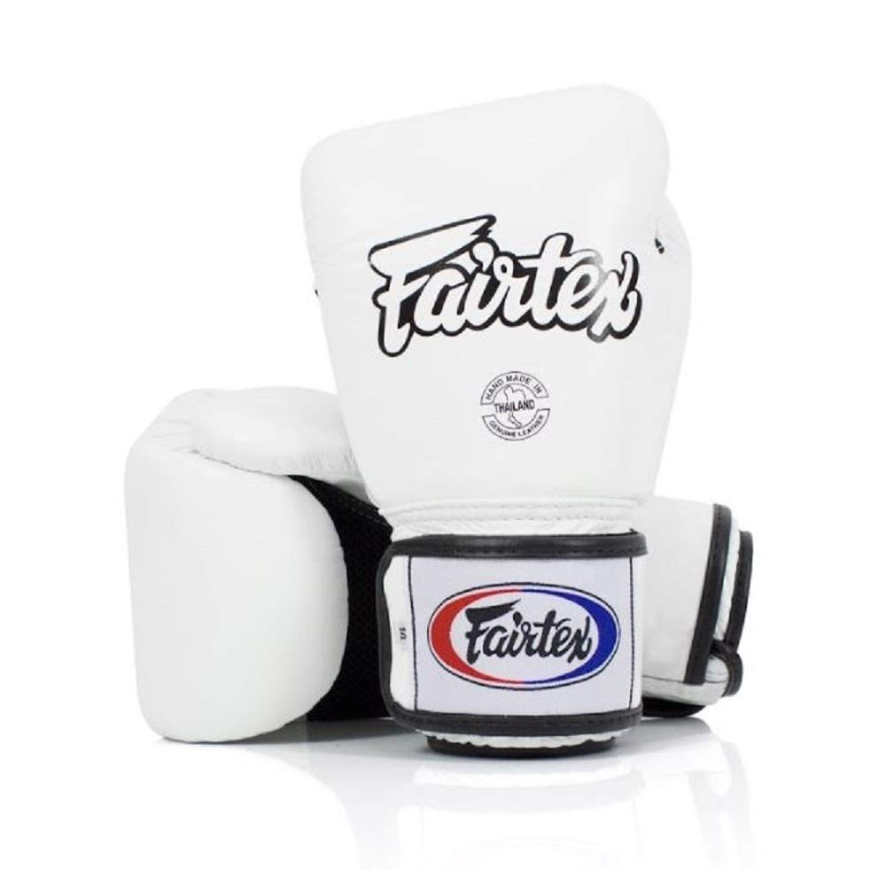 Fairtex Muay Thai Boxing Gloves. BGV1-BR Breathable Gloves