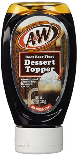 Root Beer Float Dessert - A&W Root Beer Float Dessert Topper
