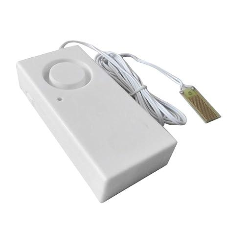 Qewmsg Sistema de Alarma de Seguridad de desbordamiento del Agua de Fuga del Sensor de Alarma