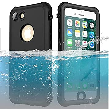 ChuWill Funda Impermeable iPhone 7, Carcasa iPhone 8, Certificado ...
