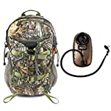 Vanguard Pioneer 1600RT Realtree Xtra Camo Large Hunting Pack (Carries Rifle or Bow, Easy Access Optics Pockets) with 2L Hydration Reservoir