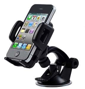 Car Phone Holder for Hands Free Driving. Windshield Mount Universal navigator&Mobile Phone Holder
