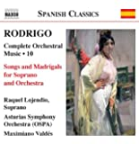 V. 10: Songs and Madrigals for