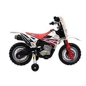 Best Ride on Cars Honda CRF250R Dirt Bike 6V 186 Kids Riding Car