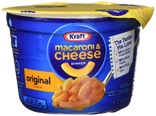 Kraft Easy Mac Cups (12 ct.) 2.05 ounce