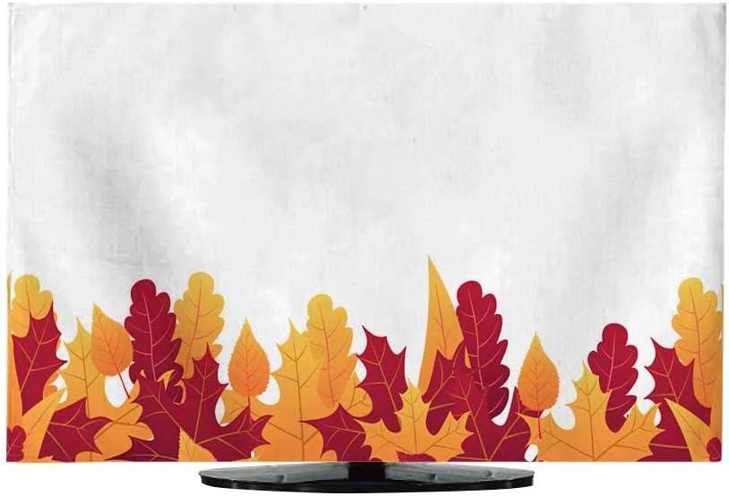 Funda para Cortina de TV con diseño de Hojas de otoño para Venta de Compras, póster de promoción y folleto de Marco o Plantilla de ilustración de Vector: Amazon.es: Electrónica