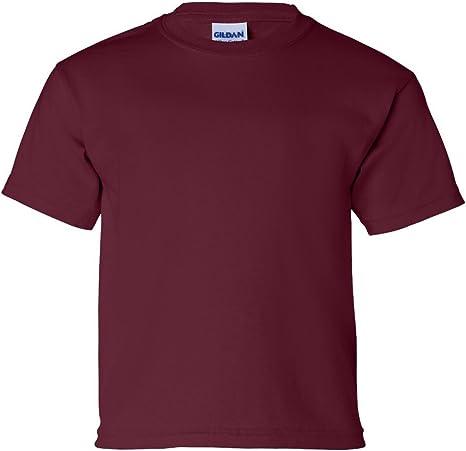 Gildan T-Shirt Youth Ultra Cotton Plain Crewneck Size XS-XL Children Shirt 2000B