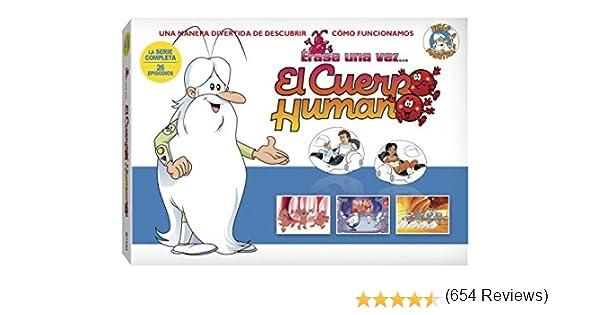 Erase Una Vez el Cuerpo Humano - Maleta 2012 (5 DVDs): Amazon.es ...