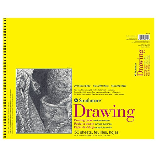 Strathmore 300 Series Drawing Pad, 14