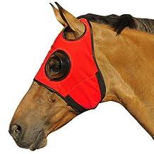 Intrepid International Can't See Back Quarter Cup Blinker Hood, Red
