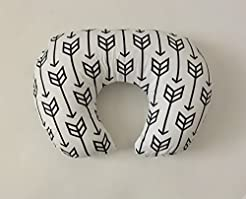 Nursing Pillow Cover - Black Arrows