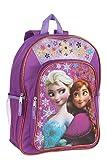 Disney Frozen Anna and Elsa 16'' Glitter Backpack