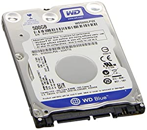 "Western Digital 500GB 2.5"" Playstation 3/Playstation 4 Hard Drive (PS3 Fat, PS3 Slim, PS3 Super Slim, PS4) from Western Digital"