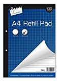 Just Stationery 100 Sheet A4 Refill Pad