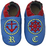 Rose & Chocolat Chaussures Bébé Sailor Blue