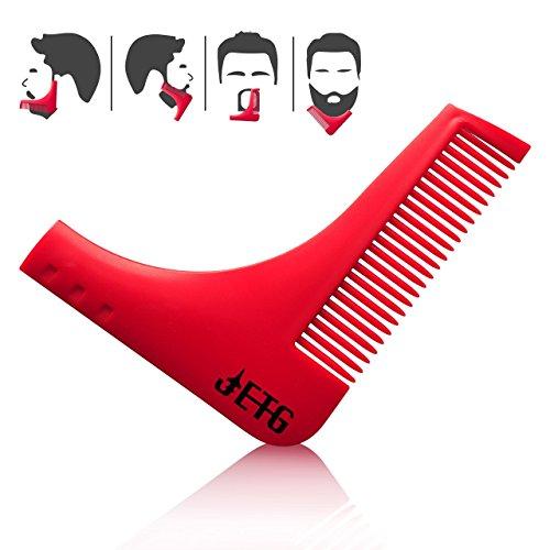 JETG Sharp Shape Beard | Beard Shaper, Beard Trimmer, Shaping Tool for Perfect Lines, Beard - Have Do I What Shape Face
