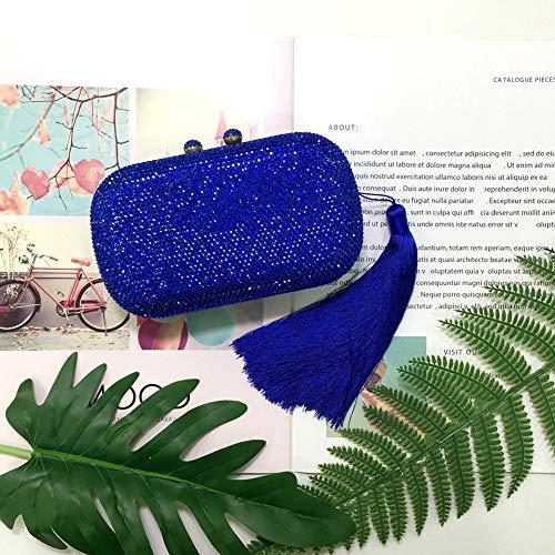De Sac Main Main Diamant Soirée Perles De KOKR De De De Forme Mariage en Clubs À Blue Sacs À Dîner Les Sacs Coquille De Fête Dames EFxwxqa0U