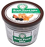 Wholesome Nut BRAIN FOOD MIX - Almonds, Cashews, Raisins, Walnuts, Dried Blueberries (Pack of 6 Cups)