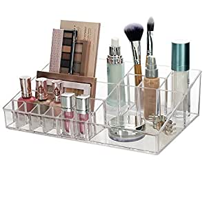 Amazon Com Premium Quality Clear Plastic Cosmetic And